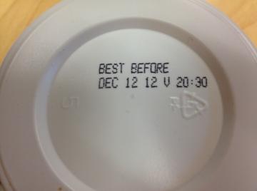 expire date