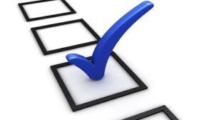 vote mark