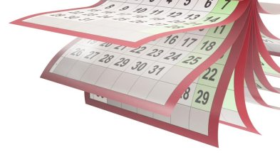 calendar flip